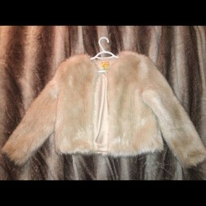 H&M Faux Fur Jacket XS